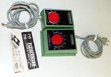 2 Fleischmann Trafo: 715 und 6730 Transformator Fahrregler