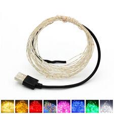 USB Plug10M 100 LED String Light Fairy Waterproof Bathroom Christmas Decorations