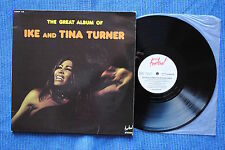 IKE & TINA TURNER / LP Double FESTIVAL Album 148 / 1974 ( F )