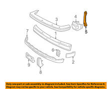 GM OEM Front Bumper-Impact Strip Brace Right 15612646