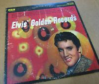 """ELVIS"" GOLDEN RECORDS"" 12"" VINYL 33 RPM LP RCA VICTOR RECORDS LSP-1707E 1958"