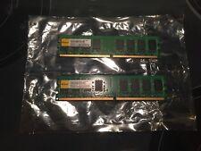 4GB (2X2GB) DDR2 2RX8 800MHz PC2-6400U 240PIN DIMM for AMD RAM Desktop Memory