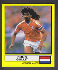 Panini Fútbol 88 - # 380 Ruud Gullit-AC Milan