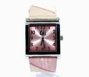 CHI BY FALCHI SUNBURST Dial Pink  Quartz Watch