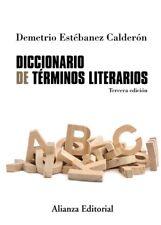DICCIONARIO DE TéRMINOS LITERARIOS. NUEVO. Nacional URGENTE/Internac. económico.