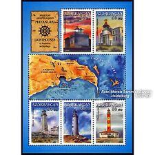 Aserbaidschan Azerbaijan 2013 - Leuchttürme, Block ** (postfrisch)