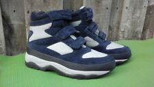 Women's LL Bean Sz 9M  Snow Sneakers Primaloft Warm Navy Blue Hiking Boots Great