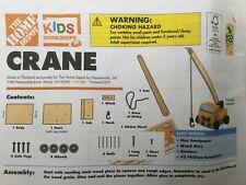 Home Depot Wood Craft Kits Group E