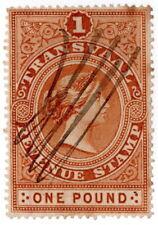 (I.B) Transvaal Revenue : Duty Stamp £1