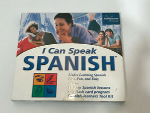 I Can Speak Spanish PC Cd Rom