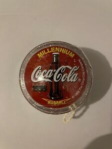 Coca Cola Russell Mellinium Yoyo. It's Still Sealed In Plastic.