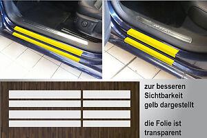 Lackschutzfolie transparent Einstiege Türen für VW Passat B7, 2010-2014