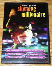 Slumdog Millionaire (DVD, 2009) Dev Patel, Irrfan Khan, Anil Kapoor NEW