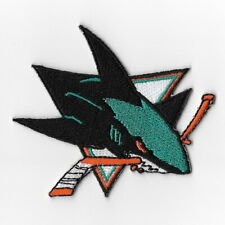 NHL San Jose Sharks Iron on Patches Embroidered Patch Applique Badge Emblem Sew