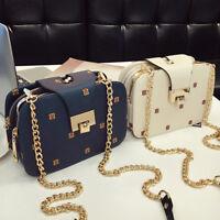 EG_ Women Faux Leather Cross Body Shoulder Bag Phone Pouch Handbag Xmas Gift San