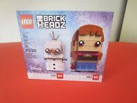 Lego BrickHeadz Disney Frozen Olaf & Anna 41618 Retired New Factory Sealed Set