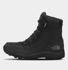 The North Face US Men 10 - Chilkat Nylon Boots Zinc Grey/Ebony Waterproof Snow