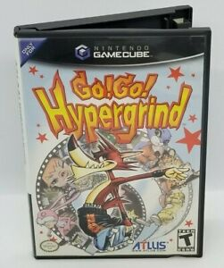 Go Go Hypergrind (Nintendo GameCube, 2003) RARE ATLUS COLLECTION MUST HAVE!