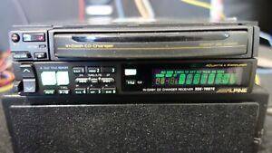 Alpine 3DE-7887 Rare Old School In-Dash 3-Disc CD Receiver. Made In Japan