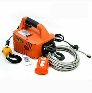 New Portable Electric Winch Electric Lifting Traction Hoist Electric Hoist 500KG