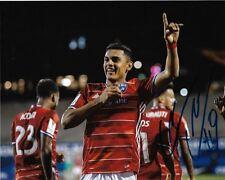 Fc Dallas Cristian Colman Autographed Signed 8x10 Mls Photo Coa