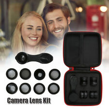 10in1 iPhone Camera lens kit Wide Angle lens Fisheye lens for Samsung Smartphone