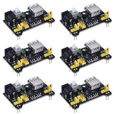 MB102 Breadboard Power Supply Module 6pcs Mini USB 3.3V 5V /DC 7-12V For Arduino