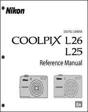 Nikon CoolPix L25 L26 Digital Camera User Guide Instruction  Manual