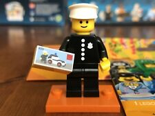 Lego Minifigure Series 18 ( 71021 ) - Classic Police Officer - New - Rare ***