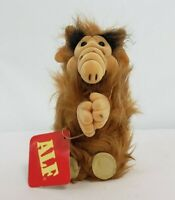 "VINTAGE  RUSS 1988 ALF THE ALIEN TV SHOW PLUSH STUFFED ANIMAL CLIP ON 6"" W/tag"