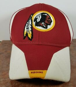 Washington Redskins NFL Equipment Reebok Hat Cap Embroidered Logo Flex Fit