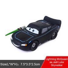 Disney Racers Lightning McQueen as Jedi Luke Skywalker Metal Toy Model Car 1:55