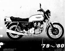 Honda CBX1000 1978-1982 Service Manual