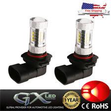 US Car LED Fog Light HB3 9140 Red Running Lamp 80W For Pontiac Scion Chevrolet