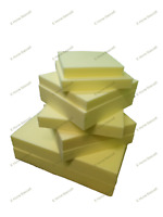 UPHOLSTERY FOAM SHEET CUT TO SIZE HIGH DENSITY ANY THICKNESS SIZE WHITE SHEETS