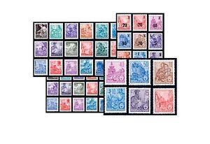 DDR Fünfjahrplan 1957 Michel-Nr. 362-479,405-422,435-442,453-458 postfrisch
