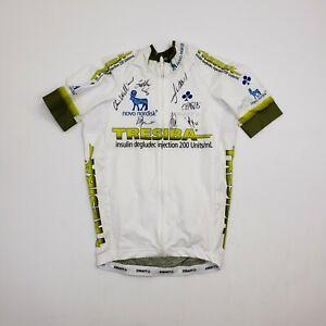 Craft Tresiba Autograph Short Sleeve Cycling Jersey Bib Shirt Pockets Womens S