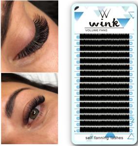WINK 0.07 Volume Lash Russian Mega Mink Silk Matte Individual Eyelash Extension