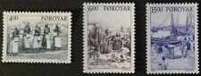 3 Number Danish & Faroese Stamps