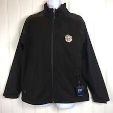 Canada Dry XL Jacket Soda Delivery Uniform Black Water Resistant Ginger Ale Coat