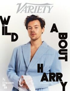 VARIETY MAGAZINE-DECEMBER 2020-HITMAKERS 2020-WILD ABOUT HARRY STYLES-BRAND NEW