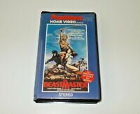 The Beastmaster VHS Pal Roadshow Big box ex rental Original case