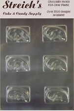 People Ears on a Bar Chocolate Candy Mold