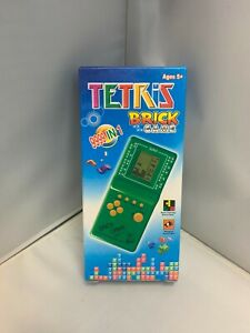 New LCD BRICK GAME 999-IN-1 HANDHELD ARCADE CLASSIC GAMES