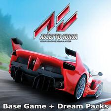 Assetto Corsa and Dream Packs | Steam Key | PC | Digital | Worldwide |
