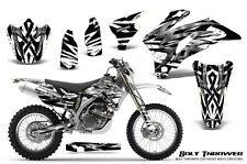 YAMAHA WR250F WR450F 2007-2011 GRAPHICS KIT CREATORX DECALS BTWNP