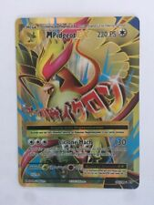 POKEMON card  # Mega PIDGEOT EX FULL ART # GX MEGA RARA TURBO Carta ITA 105/108