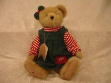 "Boyd's Bear Speara Mintly 14"" Christmas #904212 NWT 14"" 2003 retired Green Dress"