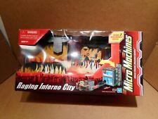 Micro Machines Raging Inferno City 45806 Playset, NIB,