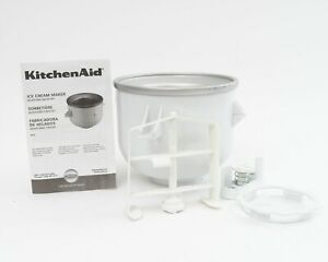 KitchenAid Ice Cream Marker Attachment With Drive & Paddle Assembly